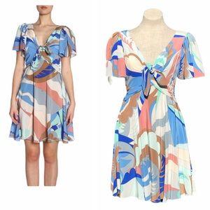 Emilio Pucci Silk Scarf Dress USA 8